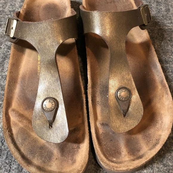 658ffed3acfa Birkenstock Shoes - Birkenstock Gizeh Birko-Flor Graceful Toffee